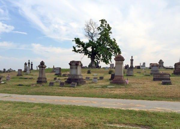 Cum Posey's grave, Baseball Hall of Famer, near Pittsburgh, Pennsylvania