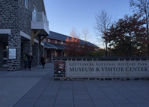 Gettysburg Battlefield Visitor Center in Gettysburg, Pennsylvania
