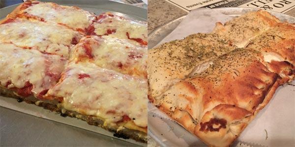 Old Forge Pizza styles near Scranton, Pennsylvania