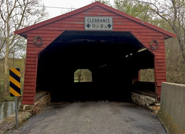 Ramp Covered Bridge near Shippensburg PA