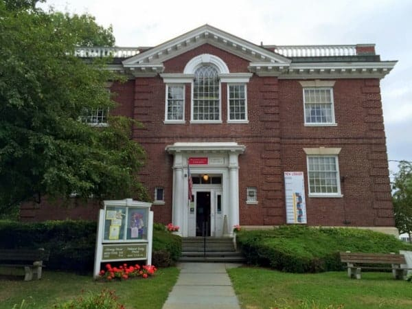The home of the Susquehanna County Historical Society Museum in Montrose, Pennsylvania.