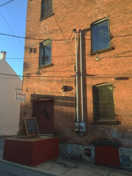 The Wacker Brewing Company building in Lancaster County, Pennsylvania