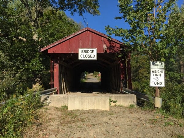 Waterford Covered Bridge in Erie County, Pennsylvania