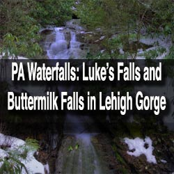 Visiting the Waterfalls of Lehigh Gorge State Park, Pennsylvania