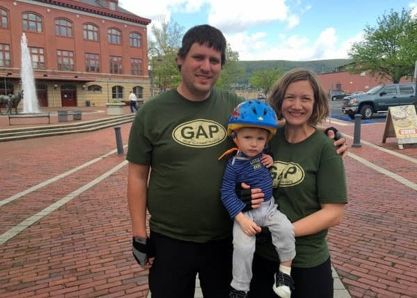 Tips for biking the GAP with your family