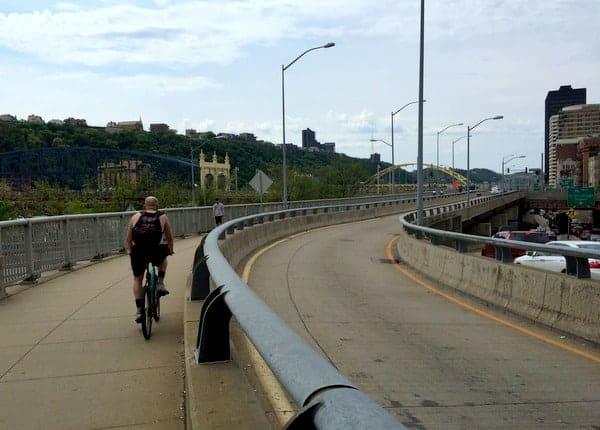 GAP Bike Trail in PIttsburgh