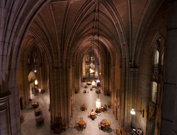 Commons Room, Cathedral of Learning in Pittsburgh, PA