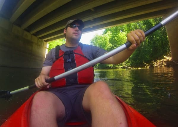 Kayaking Swatara Creek with Cocoa Kayaks