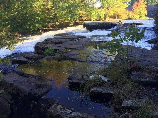 Shohola Falls in Pike County, Pennsylvania
