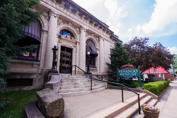 Venango Museum of Art, Science, and Industry in Oil City, Pennsylvania
