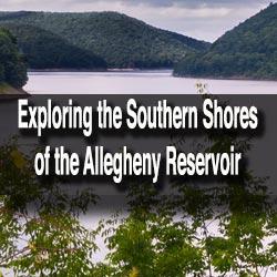 Allegheny Reservoir in Warren County, PA