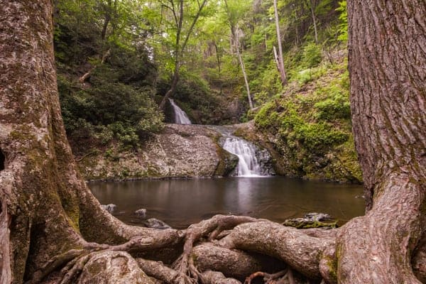 How to get to Tumbling Waters at the Pocono Environmental Education Center in the Delaware Water Gap National Recreation Area