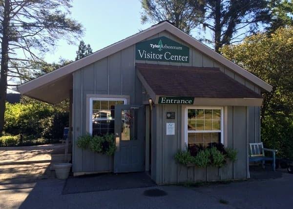Visiting Tyler Arboretum in Media, Pennsylvania.
