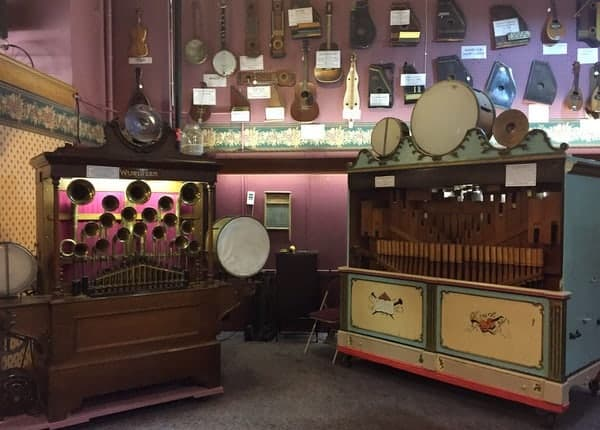 The DeBence Antique Music World in Franklin, Pennsylvania.