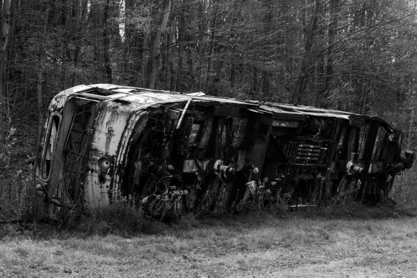 Touring the Abandoned Trolley Graveyard in Somerset County, Pennsylvania