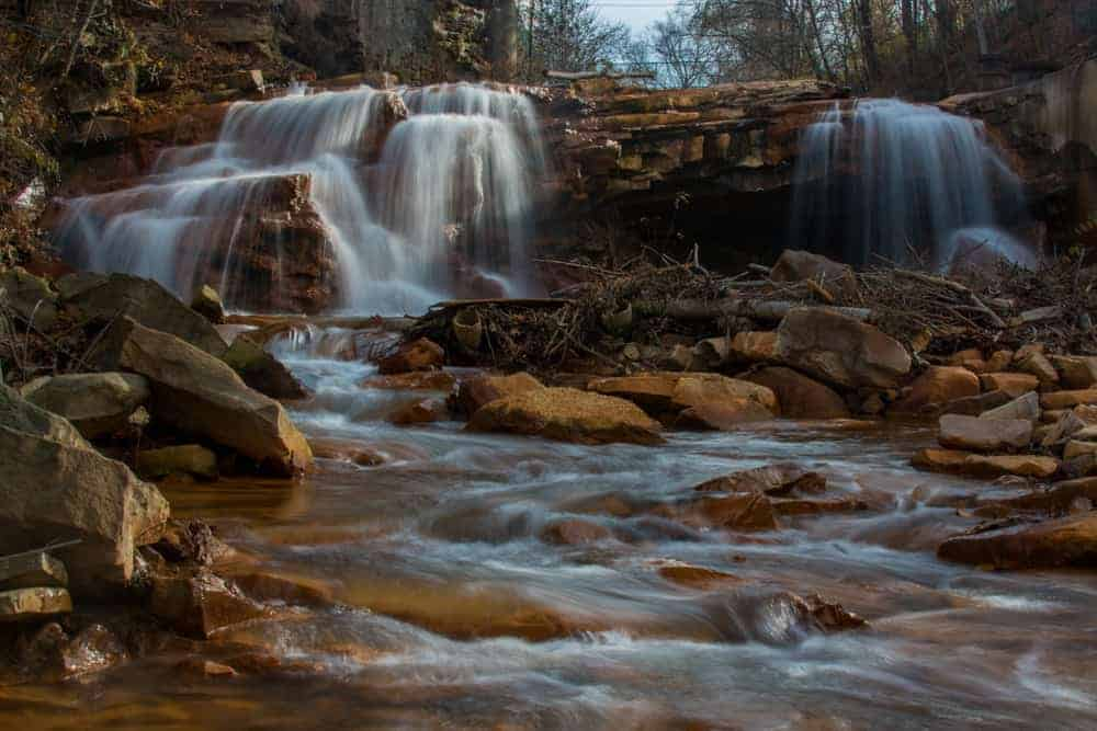 How to get to Paint Falls and Little Paint Falls near Windber, Pennsylvania
