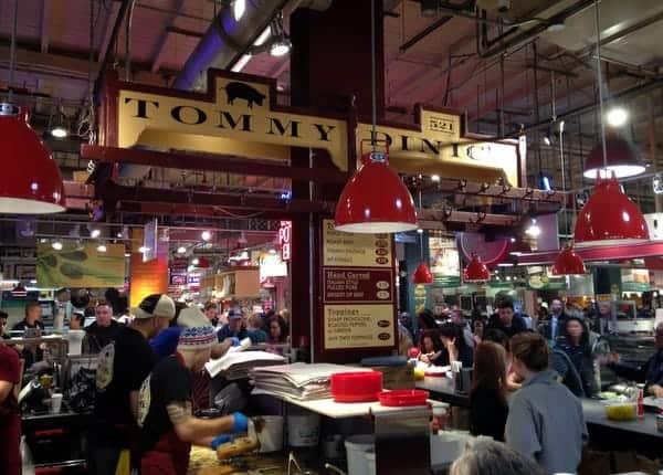 Places to eat in Philadelphia - DiNic's Roast Pork