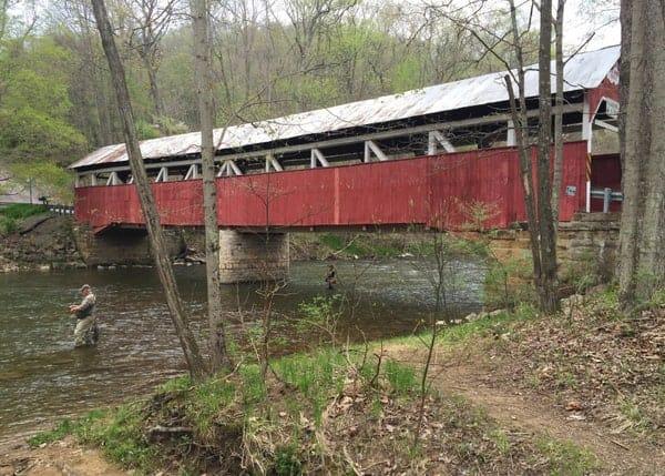 Lower Humbert Covered Bridge near Confluence, PA