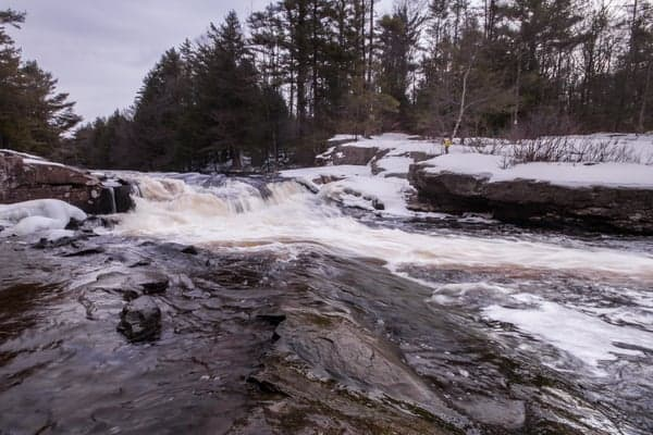 Where is Tobyhanna Falls in Pennsylvania