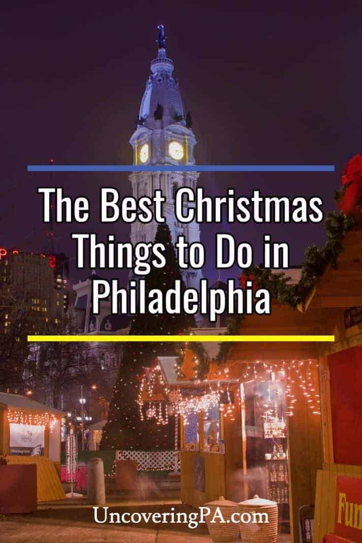 My 5 favorite christmas things to do in philadelphia for Top things to do philadelphia