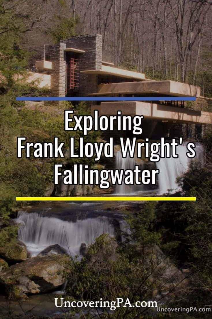 Visiting Frank Lloyd Wright's Fallingwater in Pennsylvania's Laurel Highlands.