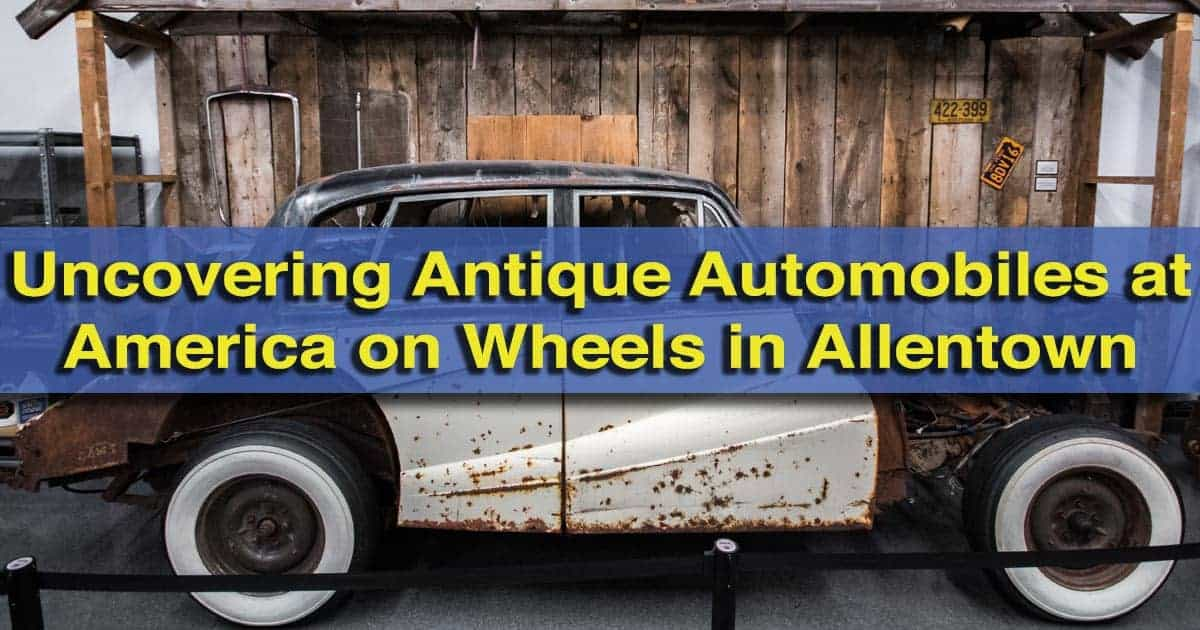 Visiting America on Wheels in Allentown, Pennsylvania