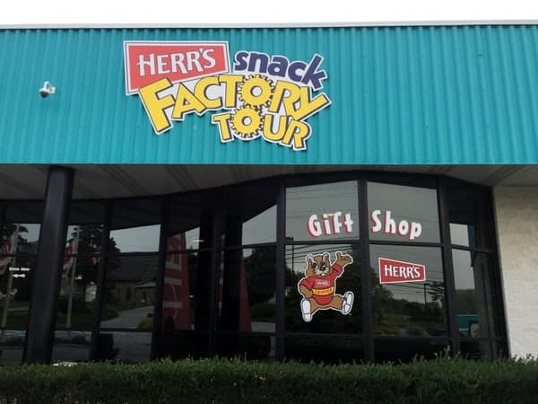 Herr's Factory Tour Visitor Center in Nottingham PA