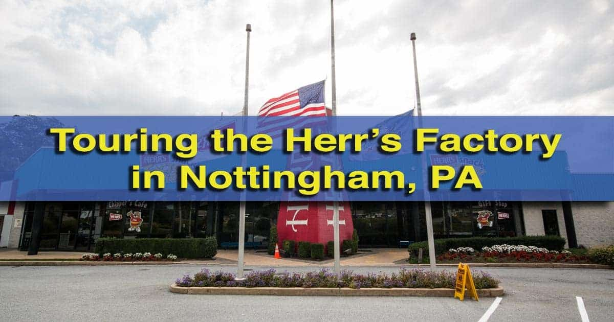 Herr's Factory Tour in Chester County, Pennsylvania