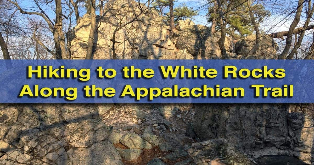 Hiking to the Beautiful White Rocks Along the Appalachian Trail in ...
