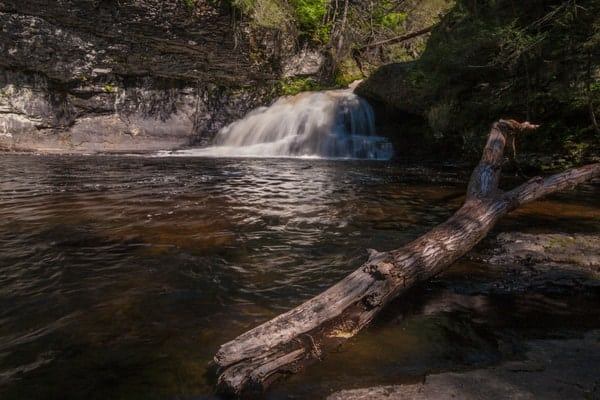 How to get to Hackers Falls in the Delaware Water Gap National Recreation Area