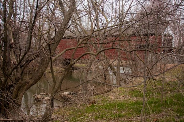 How to get to Schenck's Covered Bridge in Lancaster County, PA