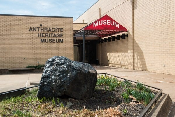 Visiting the Anthracite Heritage Museum in Scranton, Pennsylvania.
