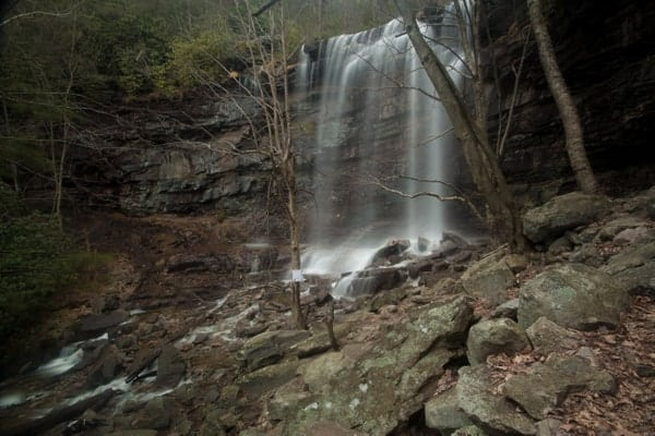 Glen Onoko Falls in Jim Thorpe, PA
