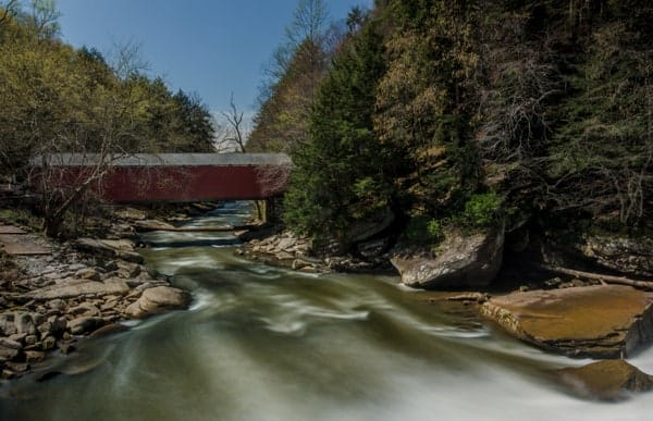 How to get to McConnells Mill Covered Bridge in western Pennsylvania