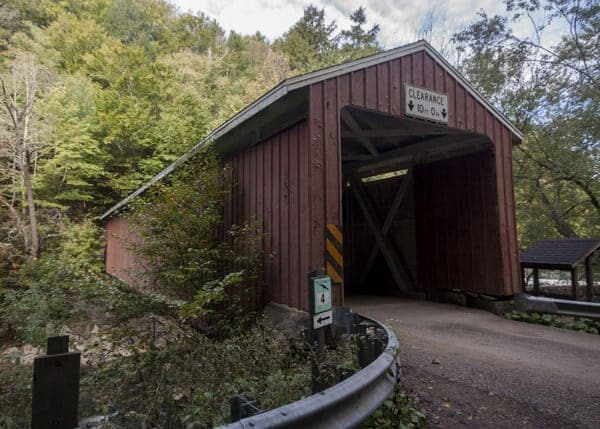 Visiting McConnell's Mill Covered Bridge in Lawrence County, Pennsylvania