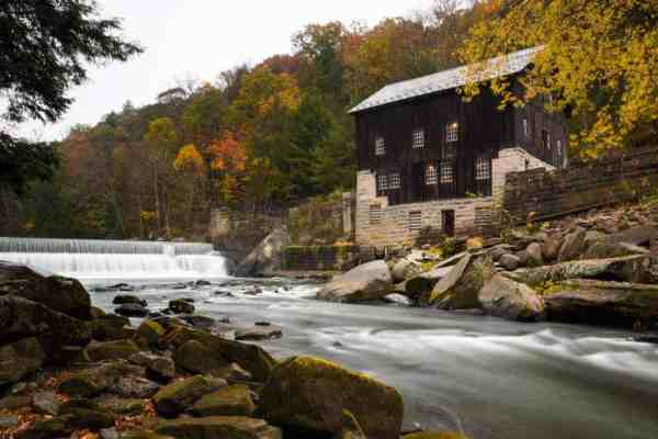 Seeing the old mill and dam are two of the best things to do in McConnells Mill State Park