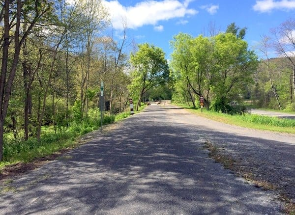 Biking the Pine Creek Rail Trail: Ansonia Access Area