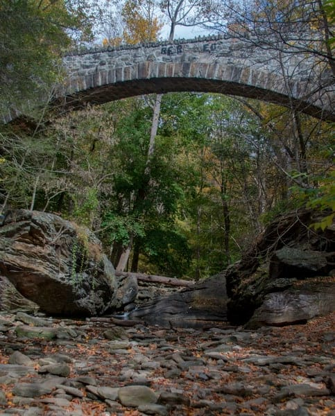 Waterfalls in Philadelphia: Devil's Falls