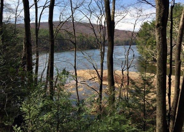 Nesbitt Reservoir in Lackawanna County, Pennsylvania