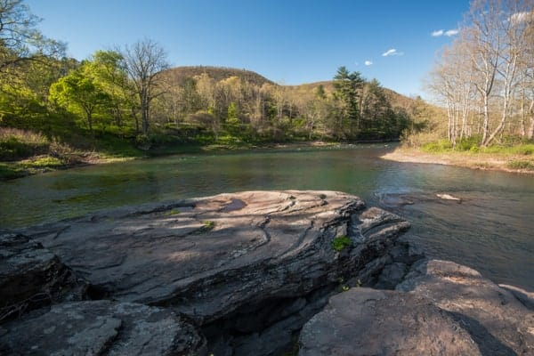 Things to do on the Pike Creek Rail Trail: Rattlesnake Rock