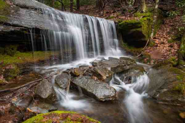 Hike to Kyler Fork Falls on the Chuck Keiper Trail