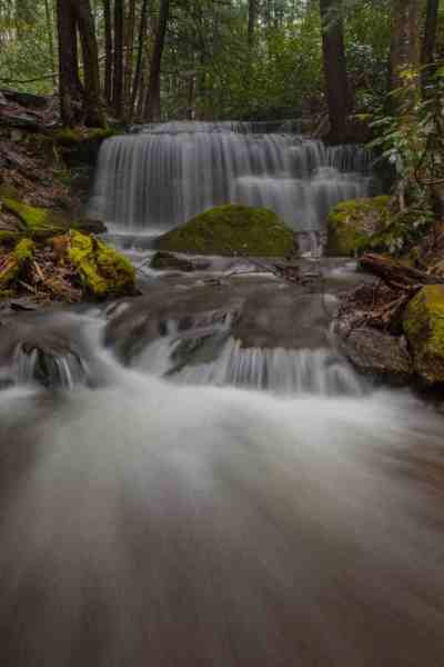 Photographing waterfalls in Pennsylvania: Yost Run Falls