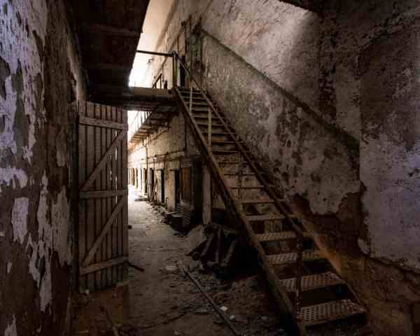 Eastern State Penitentiary is one of the best abandoned places in Pennsylvania that you can legally explore