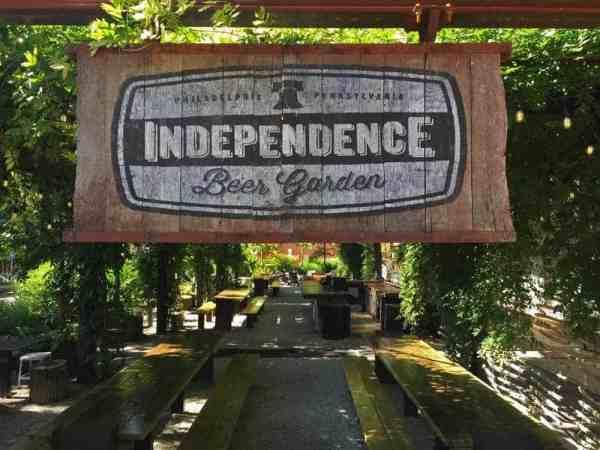 Philly Beer Garden: Independence Beer Garden