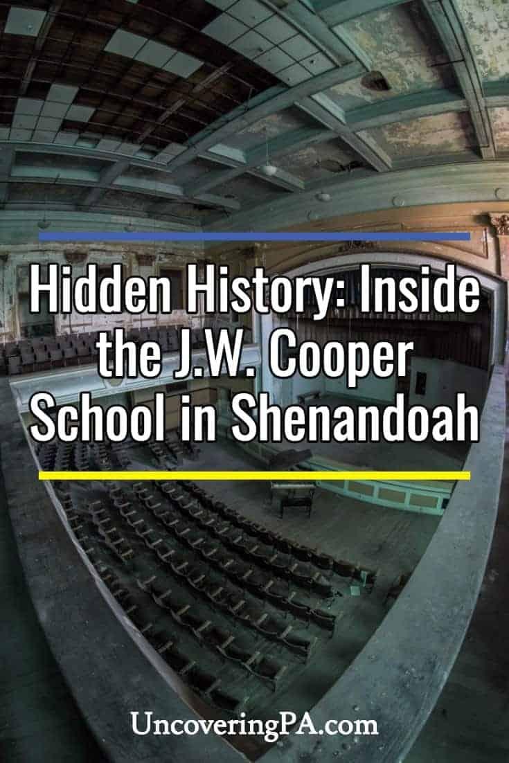 Hidden History: Inside the abandoned J.W. Cooper School in Shenandoah, Pennsylvania