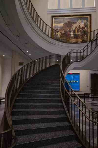 Inside the Museum of the American Revolution in Philadelphia, Pennsylvania