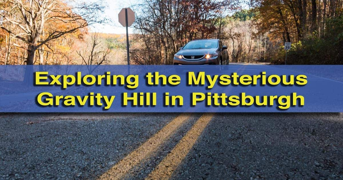 Gravity Hill in Pittsburgh's North Park