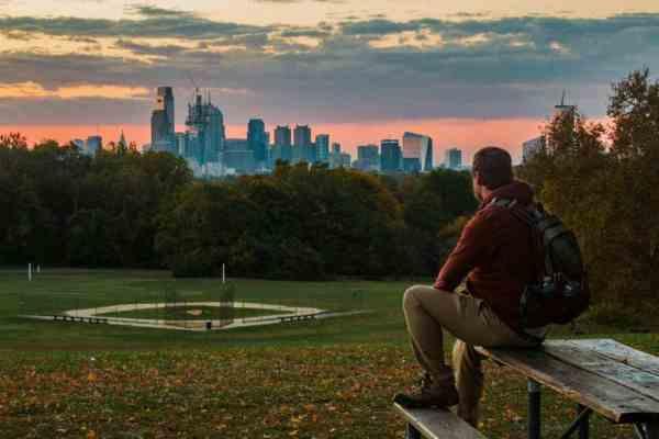 Best sunrise spots in Philly: Belmont Plateau