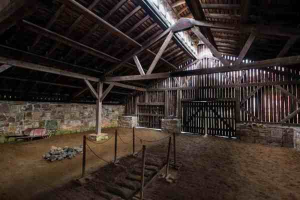 Inside Eagle Ironworks at Curtin Village