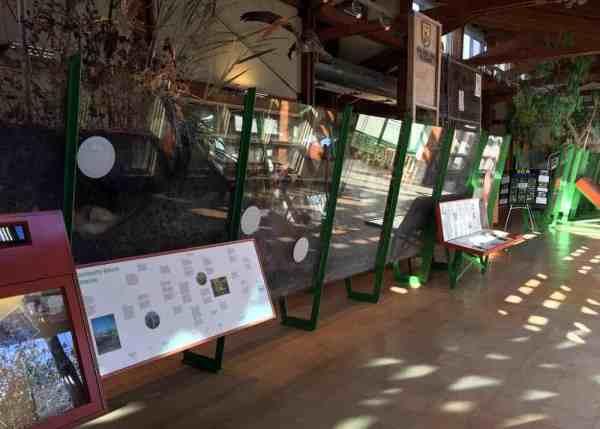 Cusano Environmental Education Center in the John Heinz National Wildlife Refuge in Philadelphia, Pennsylvania.